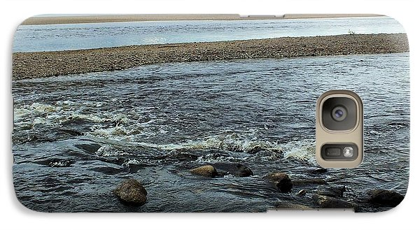Galaxy Case featuring the photograph St John River 1 by Gene Cyr