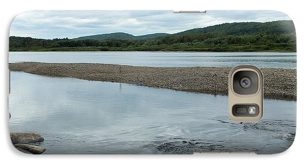 Galaxy Case featuring the photograph St John River 3 by Gene Cyr