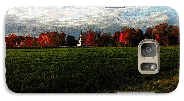 Galaxy Case featuring the digital art St. John's by David Blank