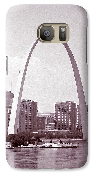 Galaxy Case featuring the photograph Arch Study 3 by Christopher McKenzie