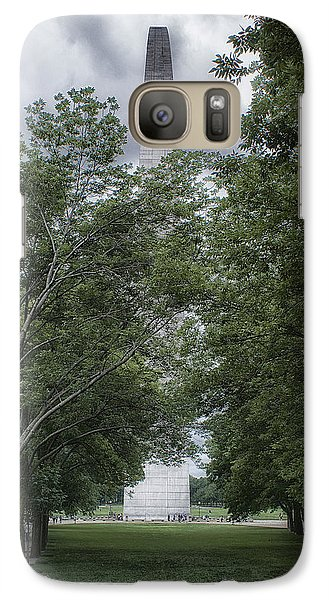 Galaxy Case featuring the photograph St Louis Arch by Lynn Geoffroy