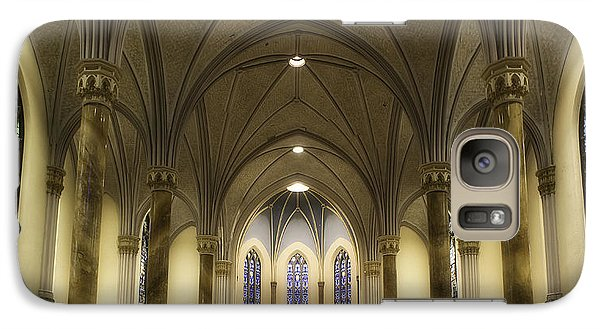 St Mary's Catholic Church Galaxy S7 Case by Lynn Geoffroy
