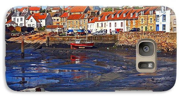 Galaxy Case featuring the photograph St Monans Fife by Craig B