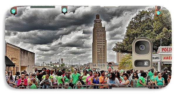 Galaxy Case featuring the photograph St. Paddy's Parade by Jim Albritton