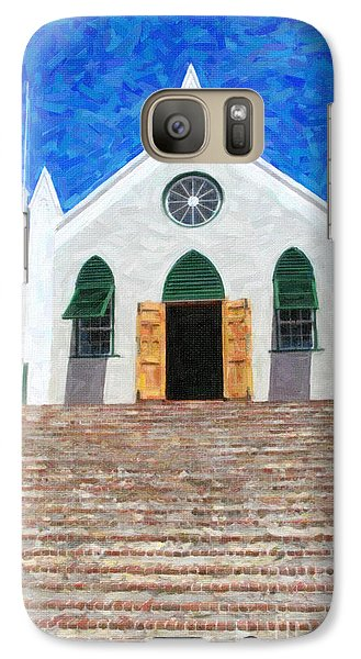 Galaxy Case featuring the photograph St. Peter's Church  by Verena Matthew