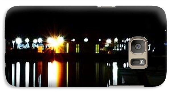 Galaxy Case featuring the photograph St. Petersburg Pier Panorama by Richard Zentner