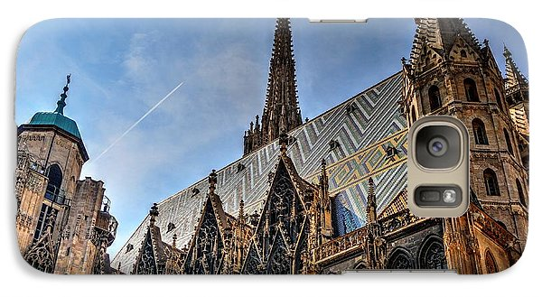 Galaxy Case featuring the photograph St. Stephen's Cathedral by Joe  Ng