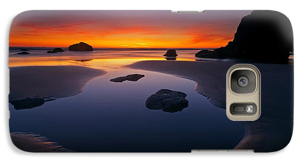 Galaxy Case featuring the photograph Stacks And Stones by Mike  Dawson