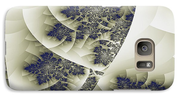 Galaxy Case featuring the digital art Stactal The Fractal by Arlene Sundby