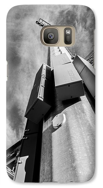 Galaxy Case featuring the photograph Stadium Lights by Rhys Arithson