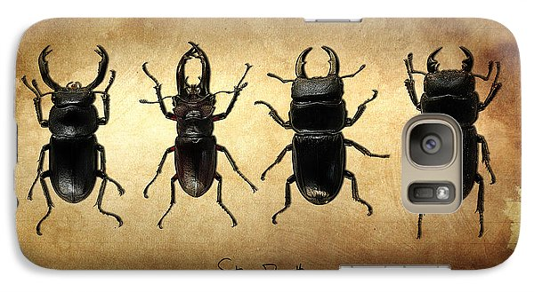 Stag Beetles Galaxy S7 Case by Mark Rogan