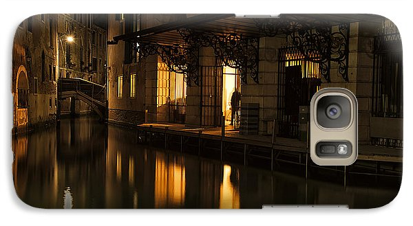 Galaxy Case featuring the photograph Stage Door by Marion Galt