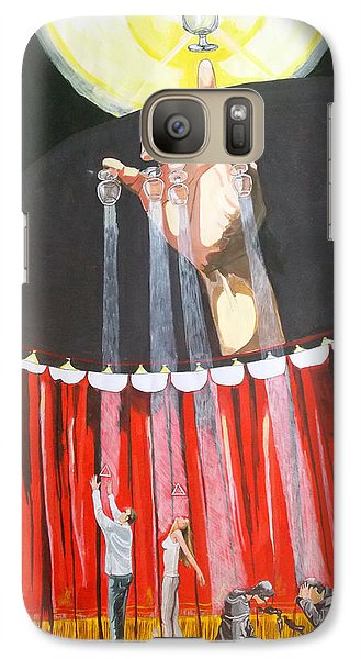 Galaxy Case featuring the painting Stage Of Life   by Lazaro Hurtado