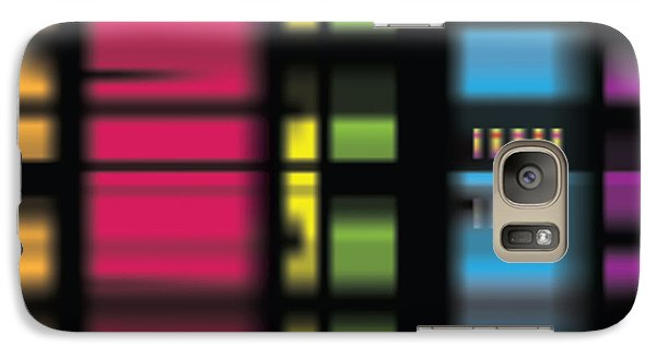 Galaxy Case featuring the digital art Stainbow by Kevin McLaughlin