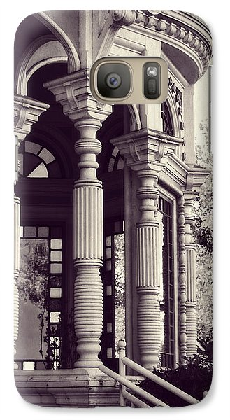 Galaxy Case featuring the photograph Stained Glass Memories by Melanie Lankford Photography