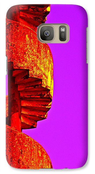 Galaxy Case featuring the photograph Staircase Abstract by Dennis Cox WorldViews