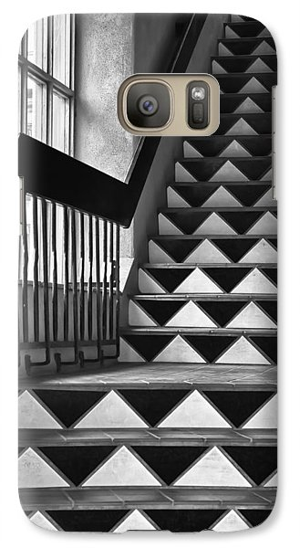 Galaxy Case featuring the photograph Staircase Santa Fe New Mexico by Ron White