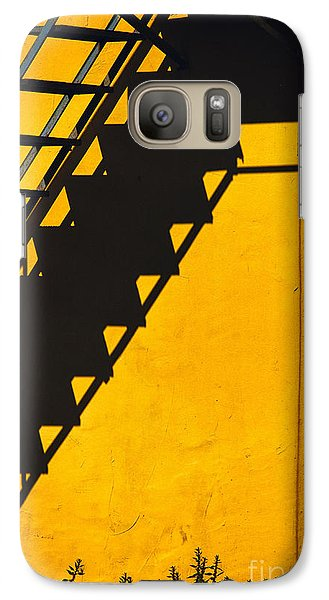 Galaxy Case featuring the photograph Staircase Shadow by Silvia Ganora