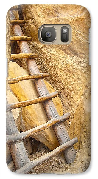 Galaxy Case featuring the photograph Stairs From The Canyon by Ross Henton