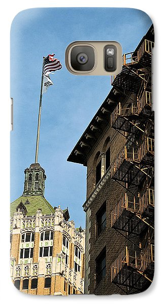 Galaxy Case featuring the photograph Stairs To The Top by Andy Crawford