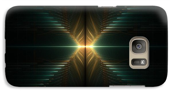 Galaxy Case featuring the digital art Stairway by Linda Whiteside