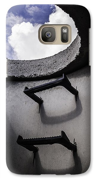 Galaxy Case featuring the photograph Stairway To Heaven - Inside Out by Steven Milner