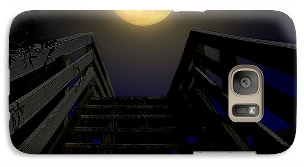 Galaxy Case featuring the photograph Stairway To Heaven by Laura Ragland