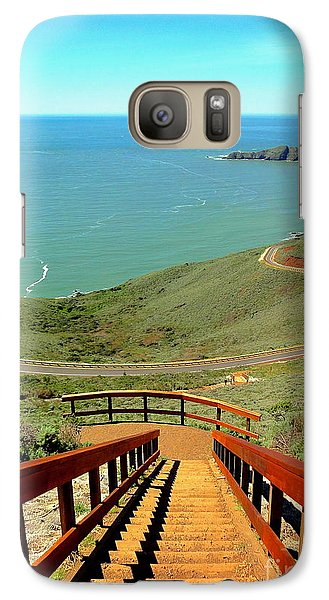 Galaxy Case featuring the photograph Stairway To Heaven by Sarah Mullin