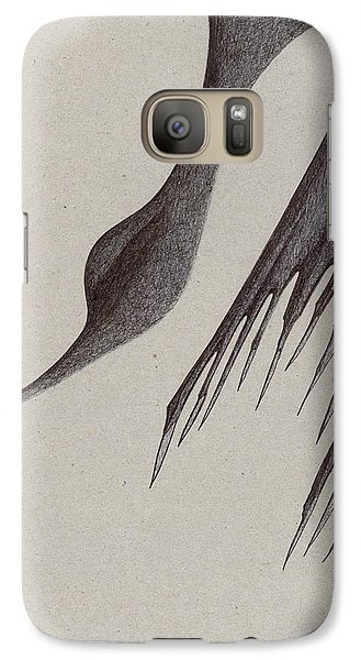 Galaxy Case featuring the drawing Stalactites Overhead by Giuseppe Epifani