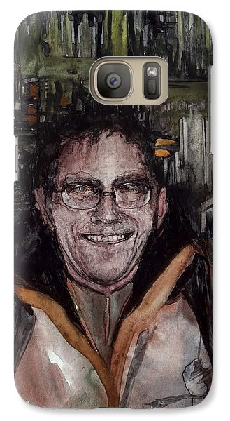 Galaxy Case featuring the painting Stalker by Mikhail Savchenko