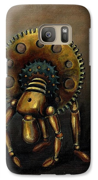 Galaxy Case featuring the painting Stalled by Sarah Farren