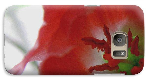 Galaxy Case featuring the photograph Stamen Splendor by Suzy Piatt