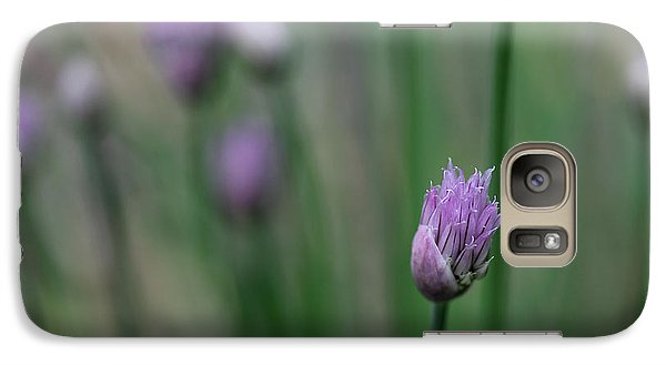 Galaxy Case featuring the photograph Not Just A Pretty Flower by Debbie Oppermann