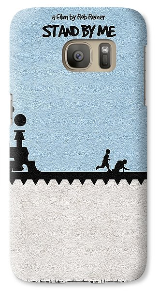 Stand By Me Galaxy Case by Ayse Deniz