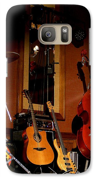 Galaxy Case featuring the photograph Stand By by Nina Ficur Feenan