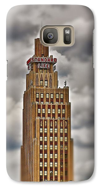 Galaxy Case featuring the photograph Standard Life Building 2 by Jim Albritton
