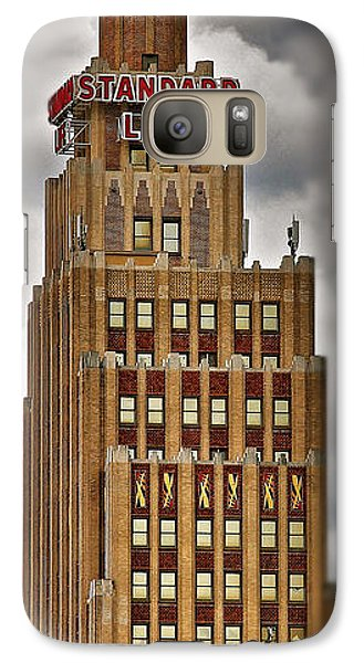 Galaxy Case featuring the photograph Standard Life Building by Jim Albritton
