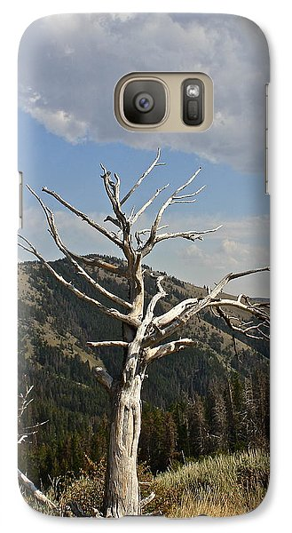Galaxy Case featuring the photograph Standing Alone by Kathleen Scanlan