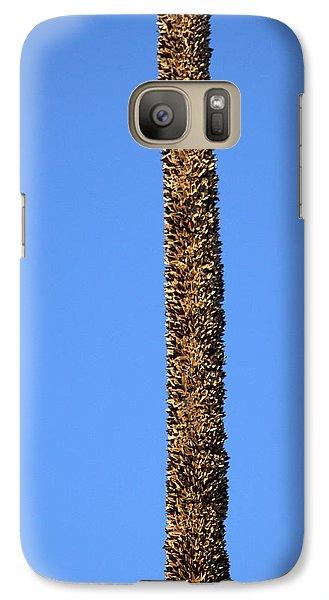 Galaxy S7 Case featuring the photograph Standing Alone by Miroslava Jurcik