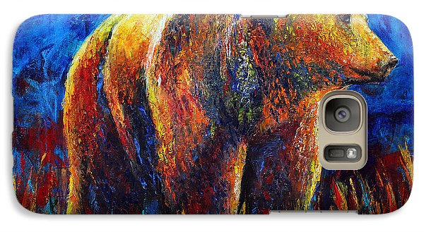 Galaxy Case featuring the painting Standing Ground by Jennifer Godshalk