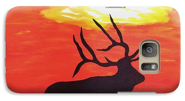 Galaxy Case featuring the painting Standing Guard by Matthew Griswold