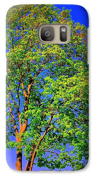 Galaxy Case featuring the photograph Standing Tall by Mary Beth Landis