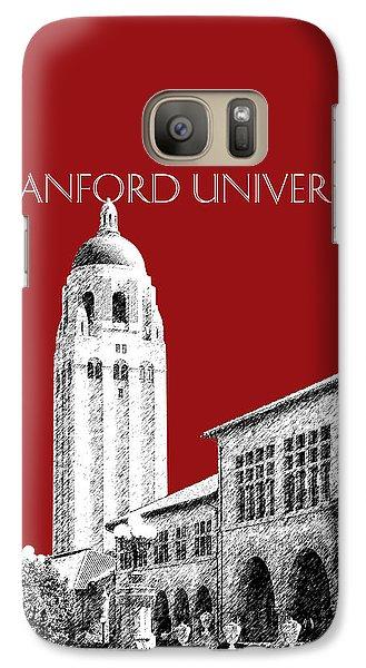 Stanford University - Dark Red Galaxy Case by DB Artist