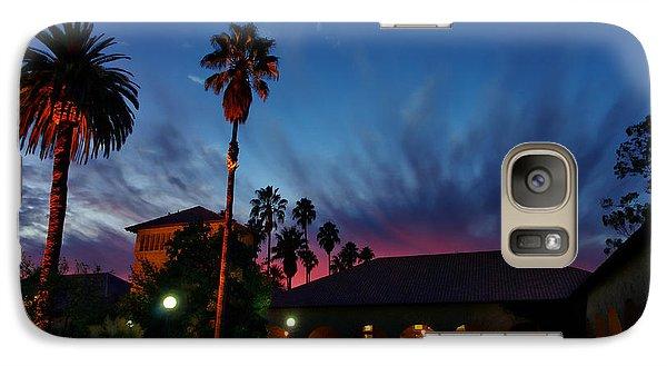 Stanford University Quad Sunset Galaxy Case by Scott McGuire