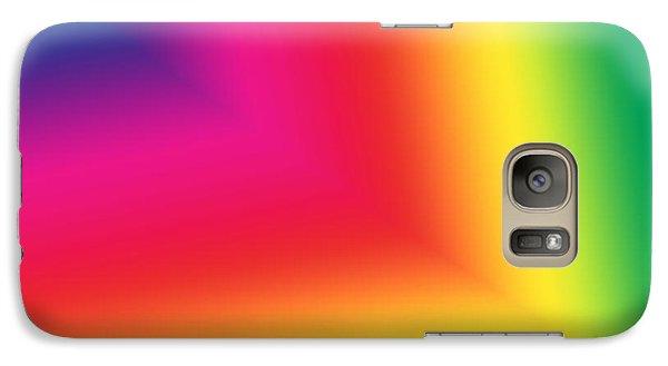 Galaxy Case featuring the digital art Star Beam  by Karen Nicholson