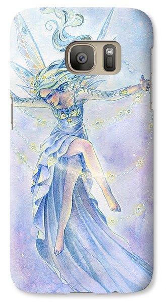Fairy Galaxy S7 Case - Star Dancer by Sara Burrier