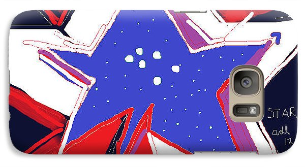 Galaxy Case featuring the painting Star Lamp by Anita Dale Livaditis