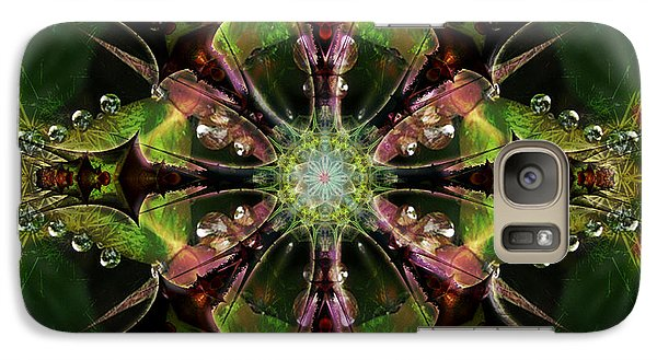 Galaxy Case featuring the digital art Star Of Piloqutinnguaq  by Rhonda Strickland