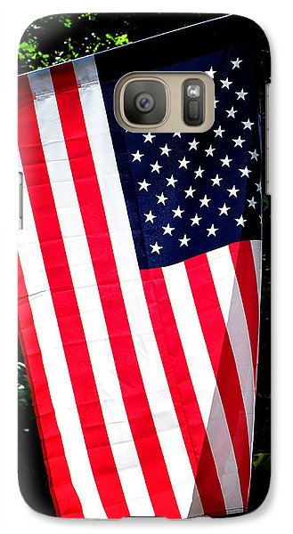 Galaxy Case featuring the photograph Star Spangled Banner by Greg Simmons