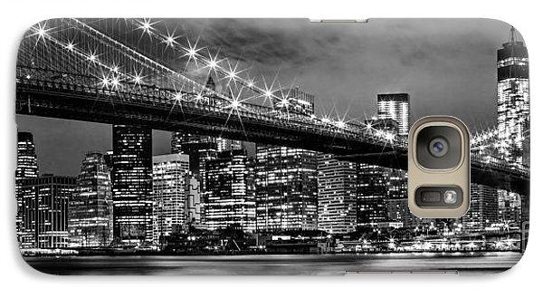 Star Spangled Skyline 2 Galaxy S7 Case by Az Jackson